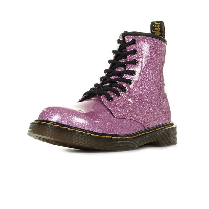 549784e116d Boots 1460 glitter j dark pink violet noir Dr Martens