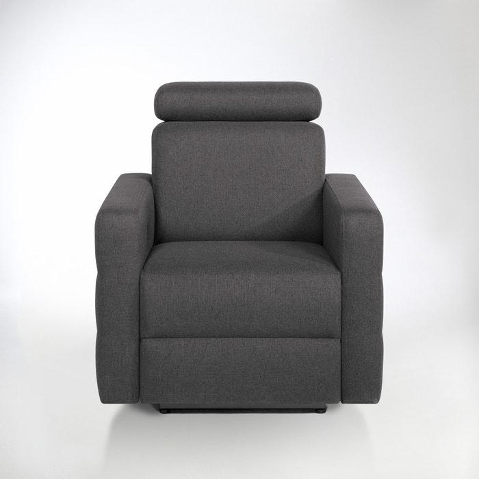 afbeelding Elektrische relax zetel in mêlee stof, Hyriel La Redoute Interieurs