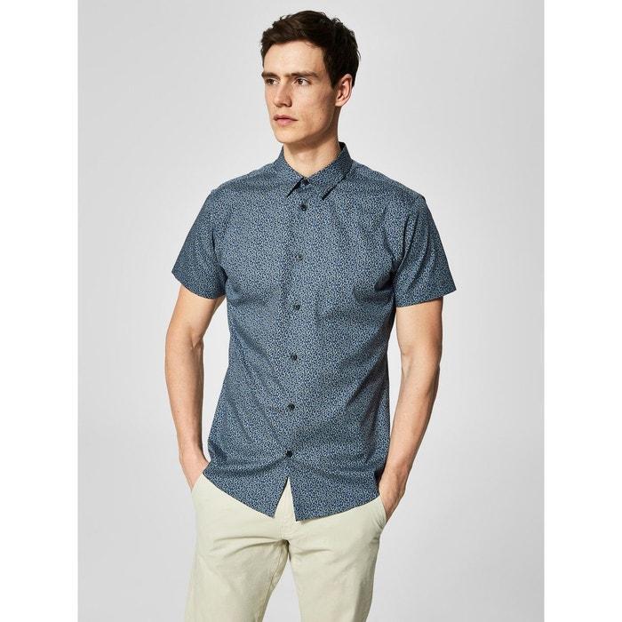 Chemise à manches courtes imprimée