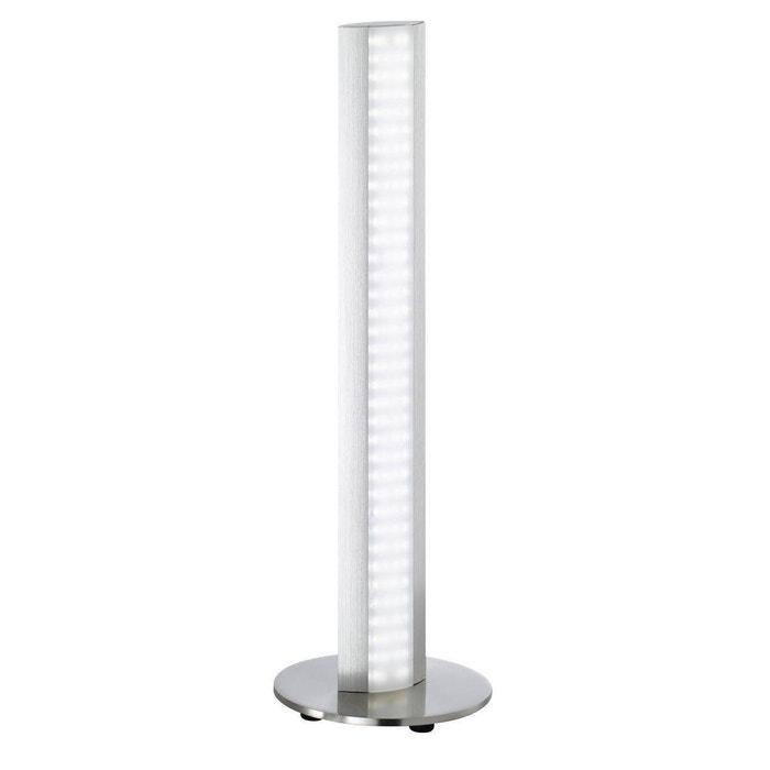 lampe led design dimmable beat argentée en métal argenté keria | la