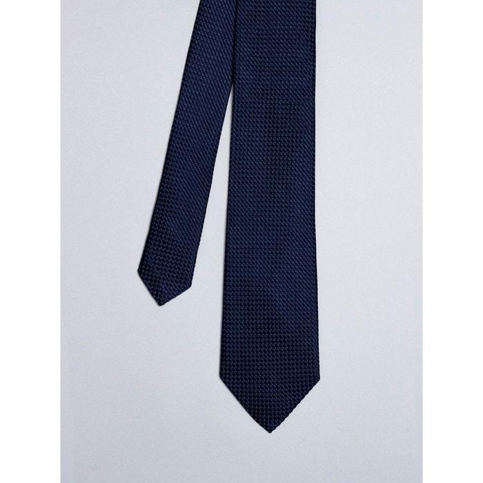 Nouvelle Arrivée Vente En Ligne Cravate noire avec micro points rouge Coton Doux | La Redoute Sortie Pour Pas Cher Réduction Aaa Acheter Pas Cher Grande Vente 9nUaiH4W