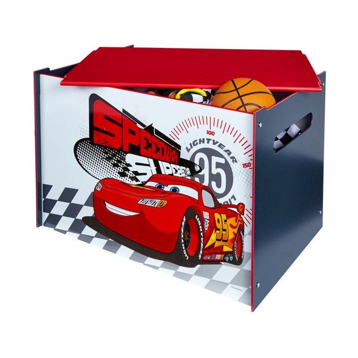Coffre jouets cars disney blanc rouge worlds apart la redoute - Grand coffre a jouet cars ...