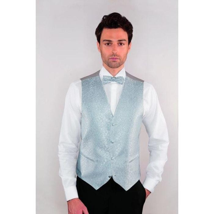 gilet costume mariage homme d cor floral gris clair gris clair dymastyle la redoute. Black Bedroom Furniture Sets. Home Design Ideas