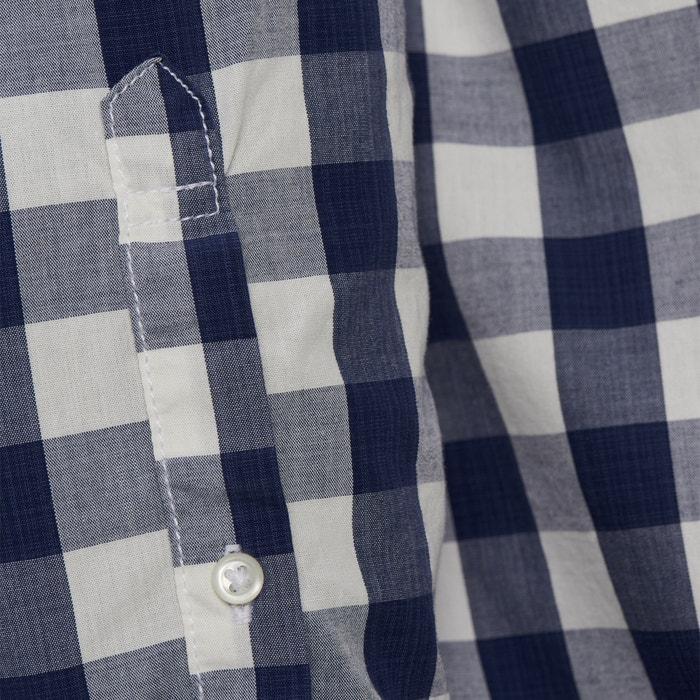 Camisa JONES recta JACK cuadros a manga amp; larga de wg5nqE