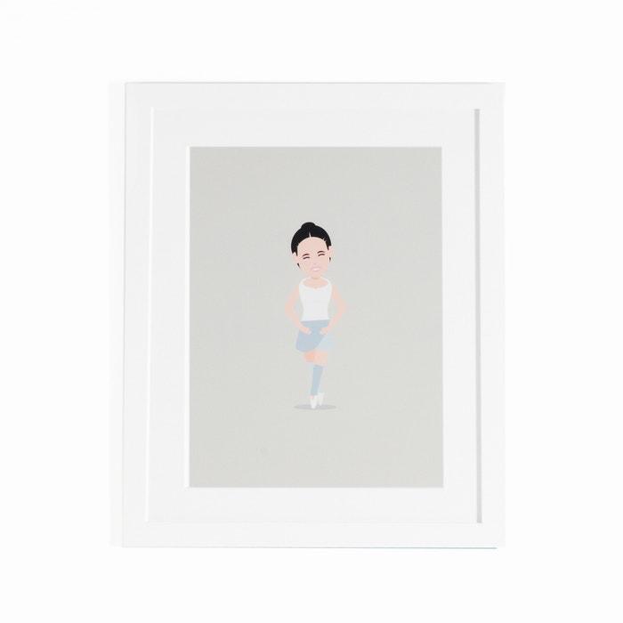 Póster enmarcado de bailarina Coriamai  AM.PM. image 0