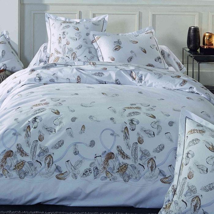 parure de lit plumes tradilinge blanc tradilinge la redoute. Black Bedroom Furniture Sets. Home Design Ideas