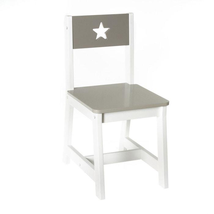 Chaise enfant mdf atmosphera la redoute for La redoute chaise