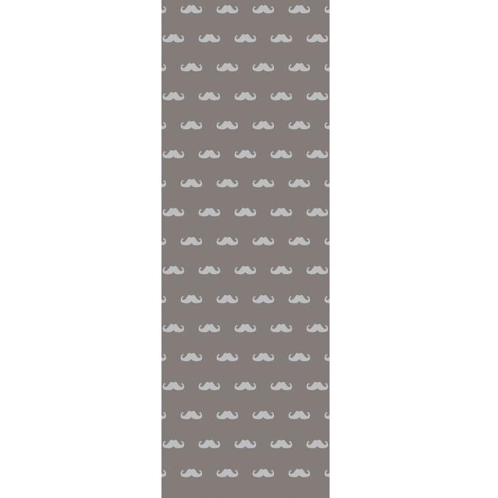l de papier peint marcel gris rendez vous deco la redoute. Black Bedroom Furniture Sets. Home Design Ideas
