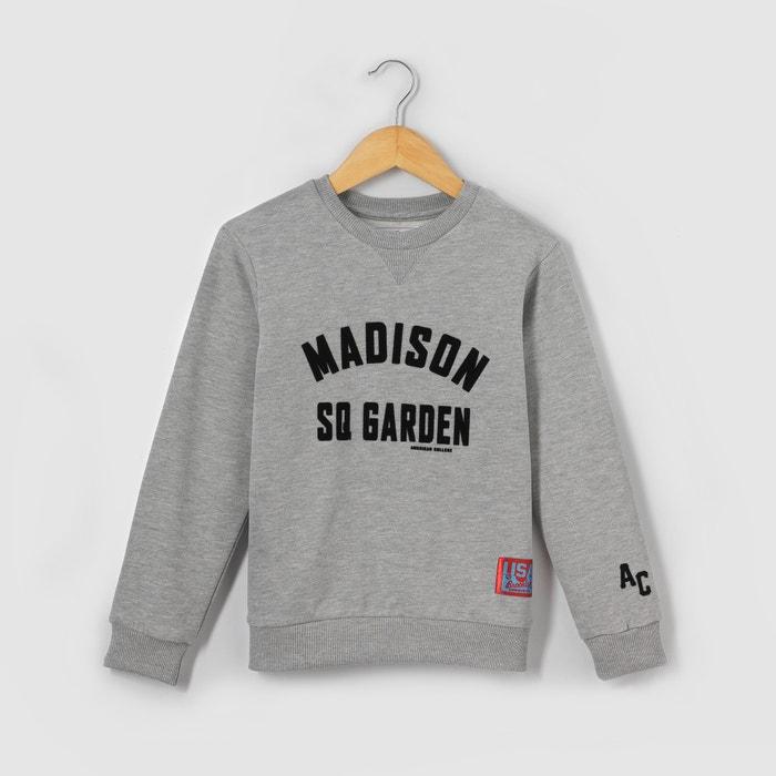 afbeelding Bedrukte sweater 10-16 jr AMERICAN COLLEGE