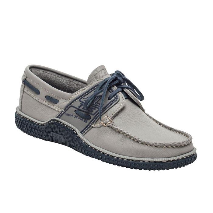 liquidation à chaud offrir des rabais aspect esthétique Chaussures bateau cuir GLOBEK