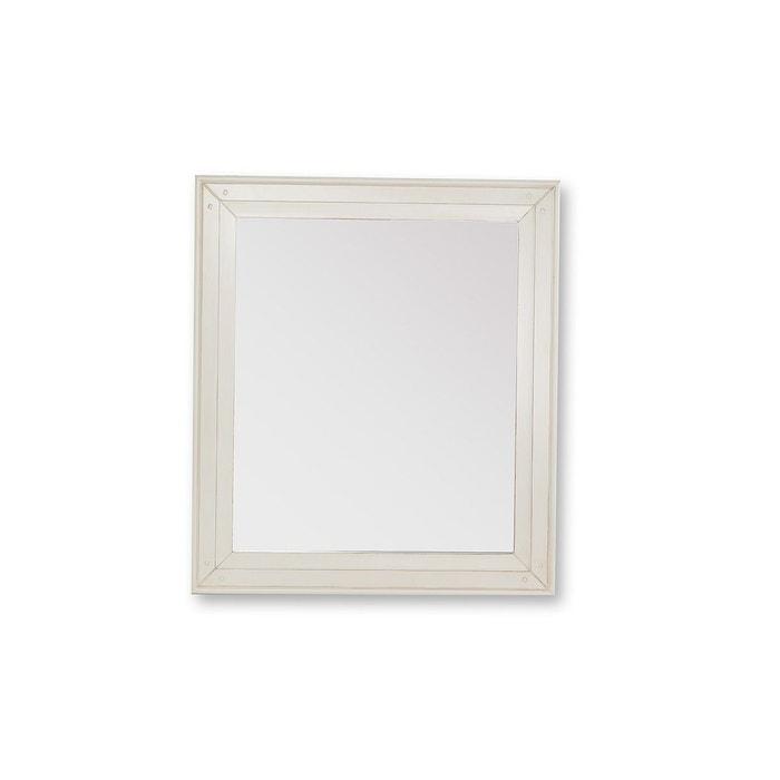 Miroir baroque blanc cass gustave blanc cass miliboo for Miroir baroque grande taille