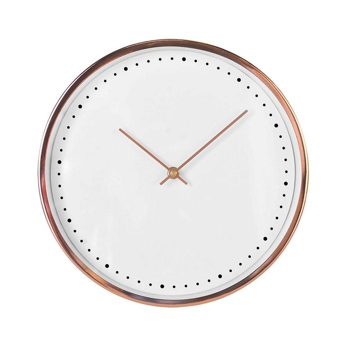 horloge or ros 30cm rose emde premium la redoute. Black Bedroom Furniture Sets. Home Design Ideas