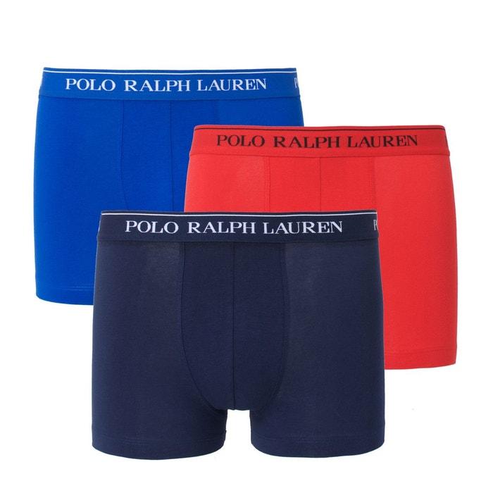 Boxer uni POLO RALPH LAUREN (lot de 3)