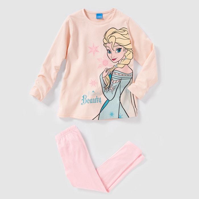 afbeelding Pyjama in jersey LA REINE DES NEIGES 2-12 jr LA REINE DES NEIGES