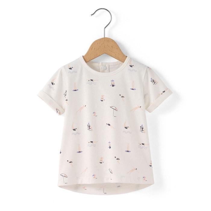 Tee shirt fille, standard en coton R essentiel