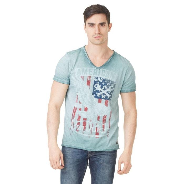 T-shirt col v homme von dutch legend imprimé