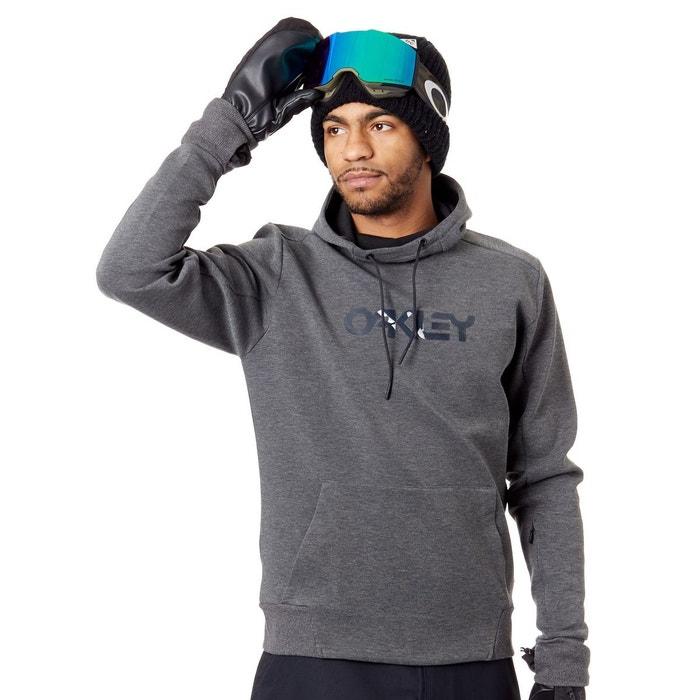 f2e5bcf704cdbd Sweat à capuche snowboard scuba gris Oakley   La Redoute