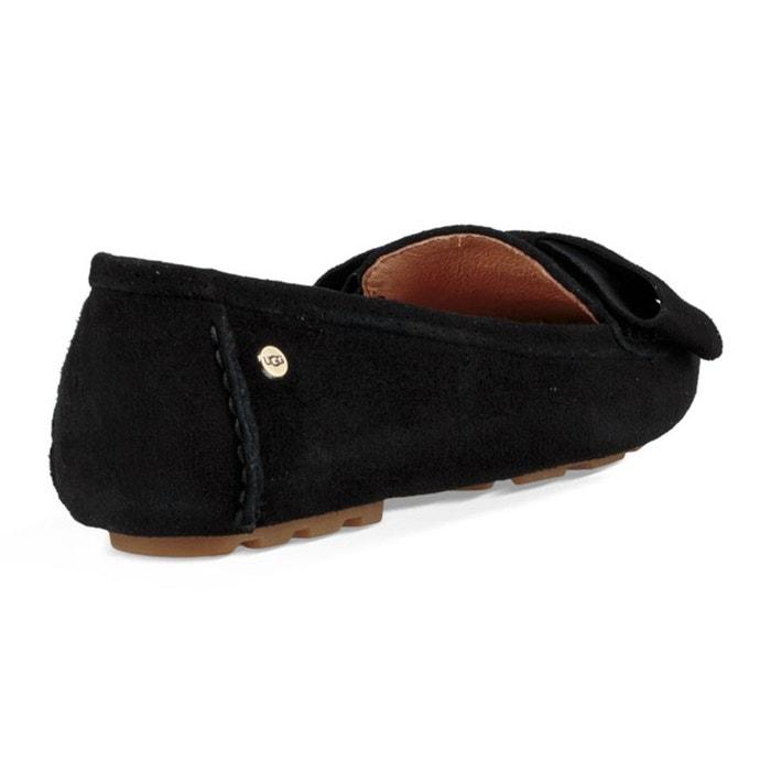 Ballerines en cuir seabrook noir Ugg