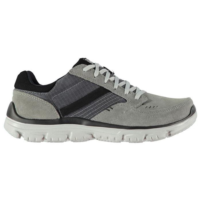 Chaussures décontractées en cuir à lacets  Skechers  La Redoute