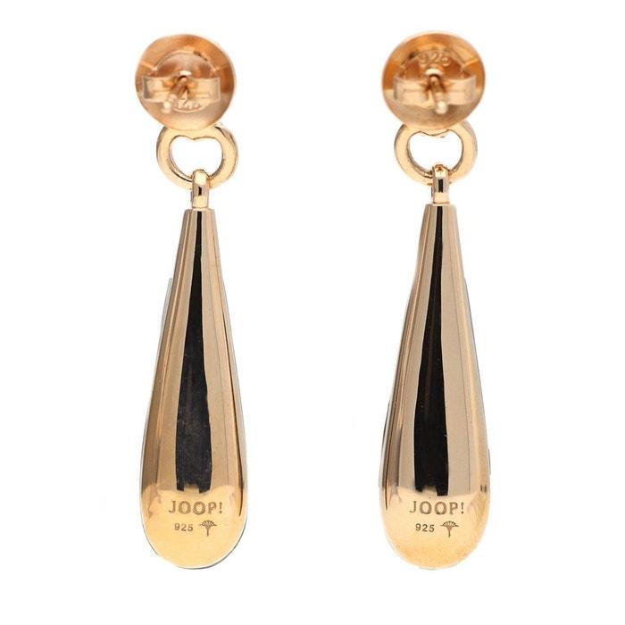Boucles d'oreilles argent naomi jper90285d000 or/noir Joop | La Redoute classique NRsPKTV