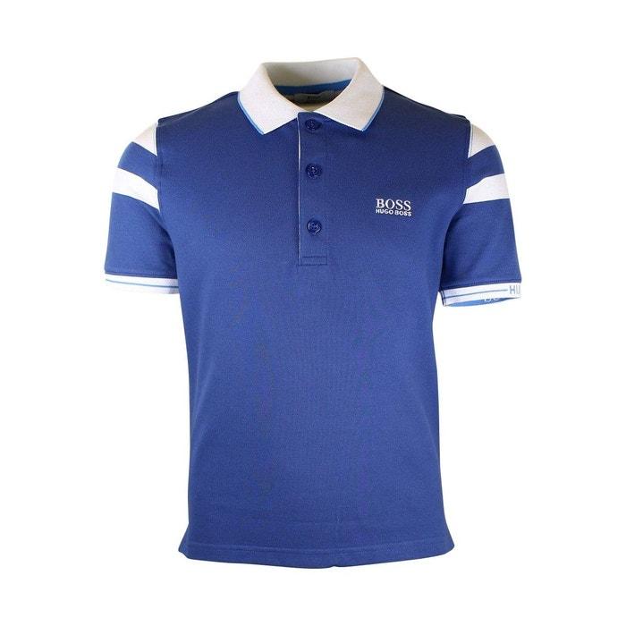 631e5b47f6b Polo junior coton bleu Hugo Boss