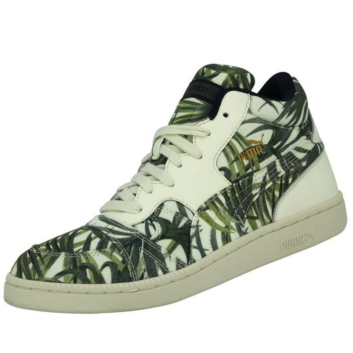 Puma BECKER X HOH Chaussures Mode Sneakers Homme Vert