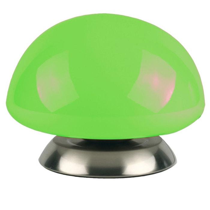 lampe champignon touch vert atmosphera la redoute. Black Bedroom Furniture Sets. Home Design Ideas