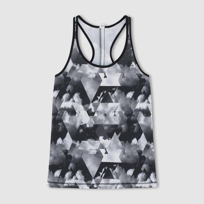 Printed Tank Sports/Training Vest Top