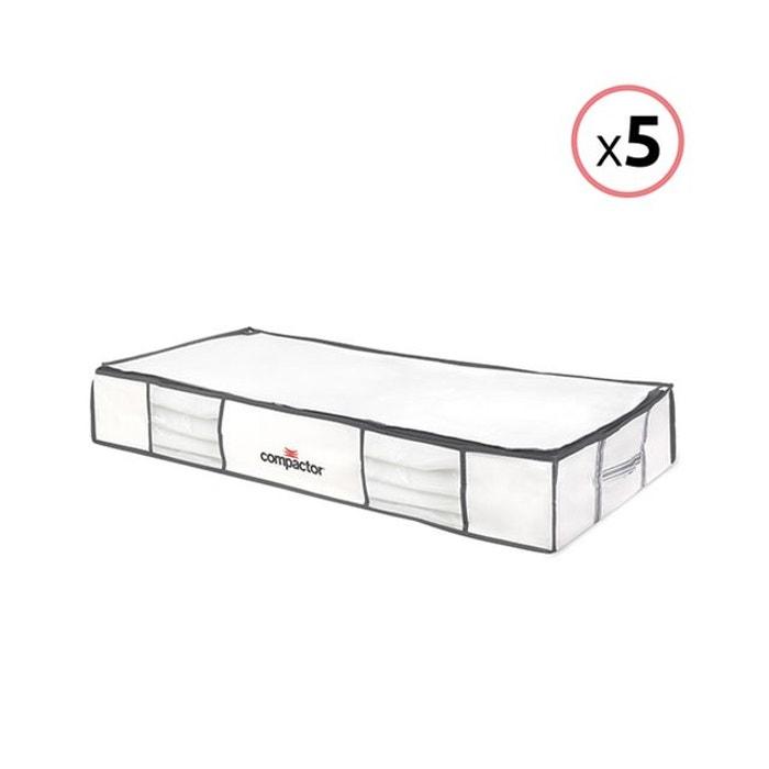 Lot de 5 compactor life taille xl - housses de rangement sous vide blanc Compactor   La Redoute