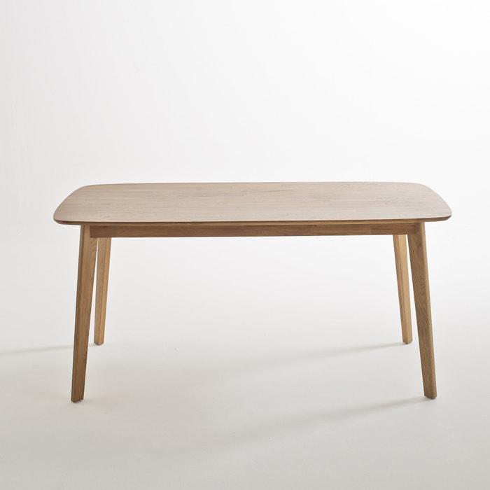 Mesa em carvalho maciço, 6 pessoas, Jimi  La Redoute Interieurs image 0