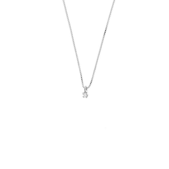 Collier diamant solitaire La Sortie Authentique nzxs5