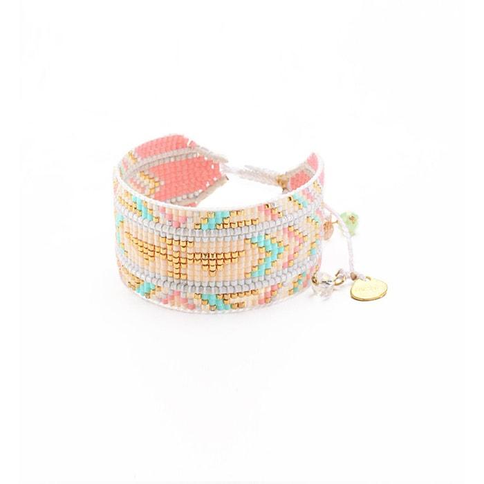 authentique Bracelet manchette fait main 'rays' Vente En Gros Le Meilleur Vente En Ligne Pas Cher Acheter Pas Cher Achats En Ligne wPCGv5J56x