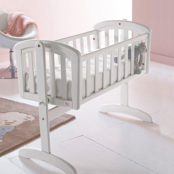 Berceau à bascule pour bébé, loft blanc Troll | La Redoute