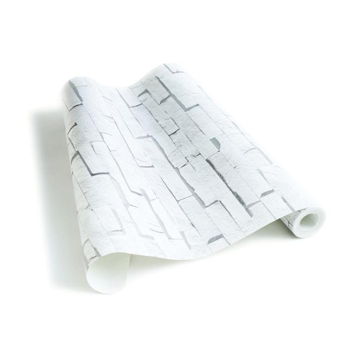 papier peint blocs de craie blanche blanc koziel la redoute. Black Bedroom Furniture Sets. Home Design Ideas