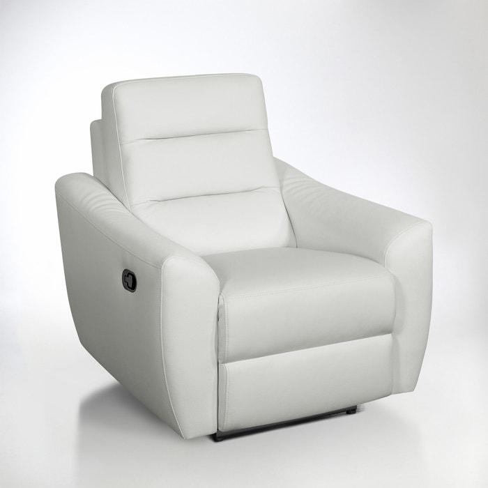 afbeelding Relaxzetel in leer, Gedes La Redoute Interieurs