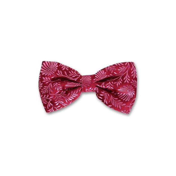 bc83c689053a1 Noeud papillon noué pasadena. soie motifs rose Robert Charles | La Redoute