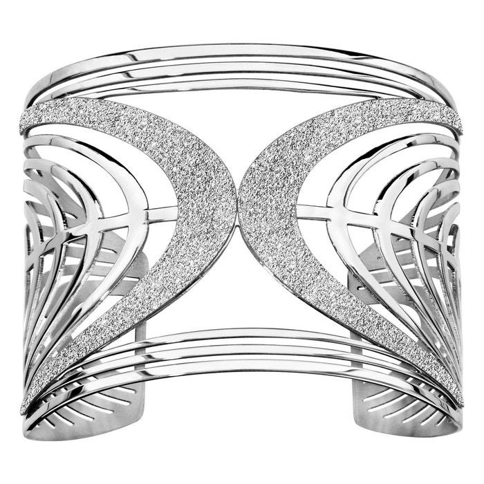 Bracelet manchette fantaisie aspect granit acier inoxydable couleur unique So Chic Bijoux | La Redoute Acheter Pas Cher En Ligne AwDLg11u