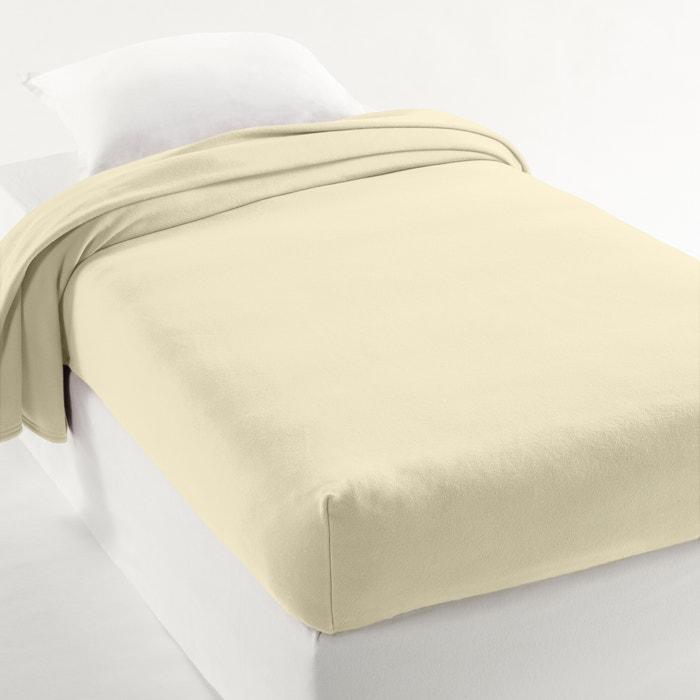 afbeelding Fleece deken, halve hoes 350 gr m2 La Redoute Interieurs