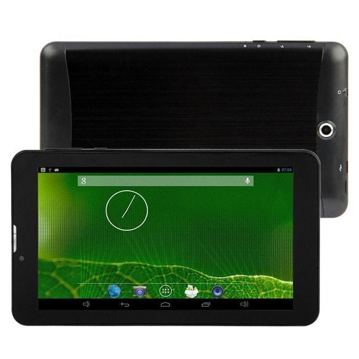 Tablette 3g 7 pouces gps otg android 4 4 double sim 8 go - Tablette 8 pouces 3g ...