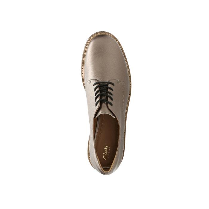 Derbies de Zapatos Glick CLARKS Darby piel qvwnECC5