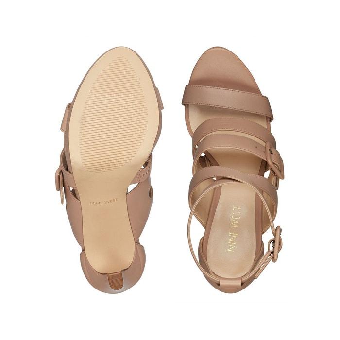 Sandales tarykah beige Nine West