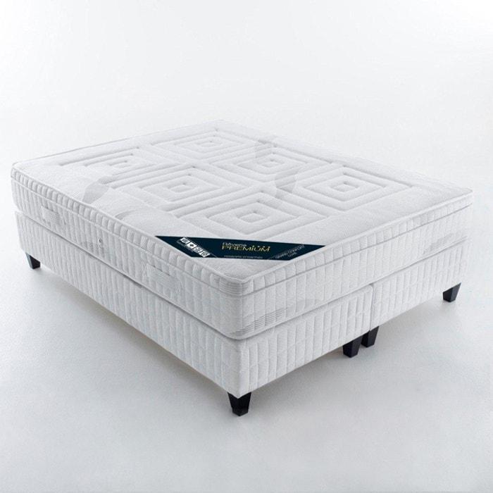 Image Matelas ressorts ensachés, grand confort luxe ferme 7 zones, avec surmatelas intégré REVERIE