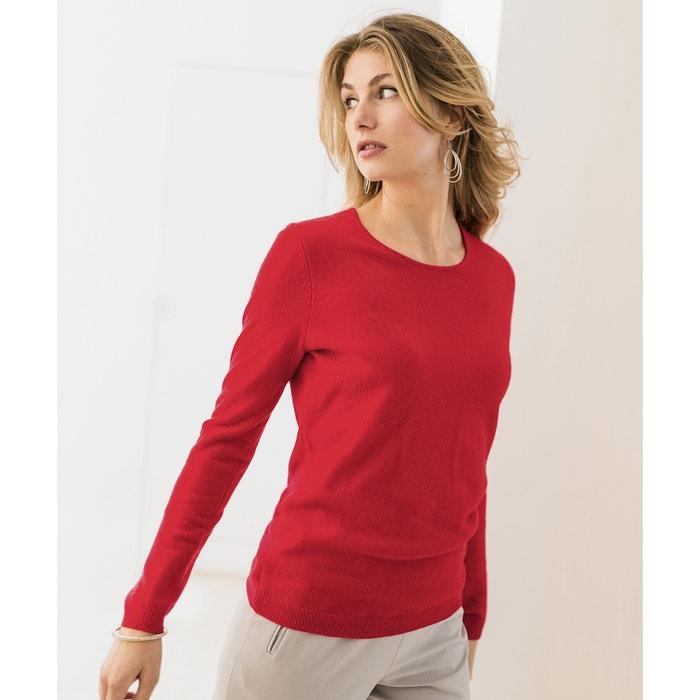 Jersey 100 cachemir cuello redondo de ANNE WEYBURN 5Hn7WSp