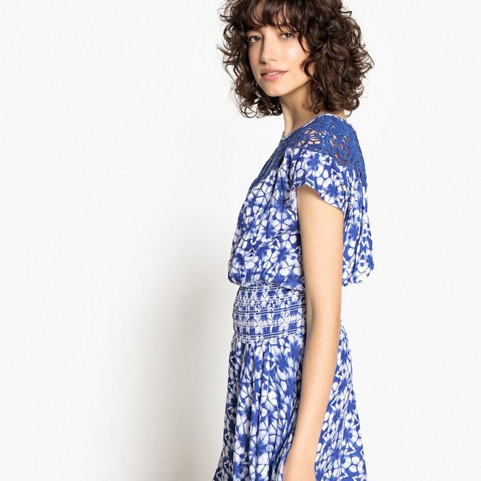con La asim estampado Collections 233;trico Redoute Vestido bordado y bajo YvR1PYU