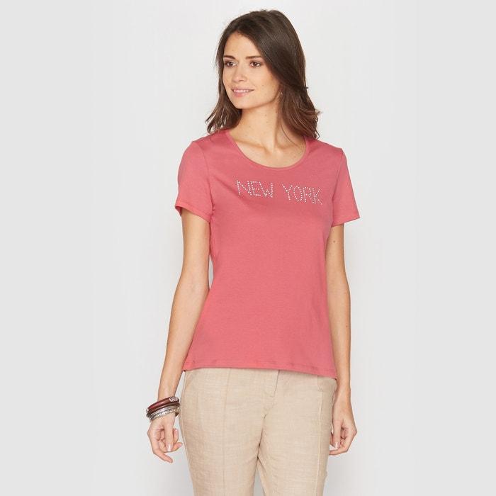 Image Diamanté T-Shirt ANNE WEYBURN