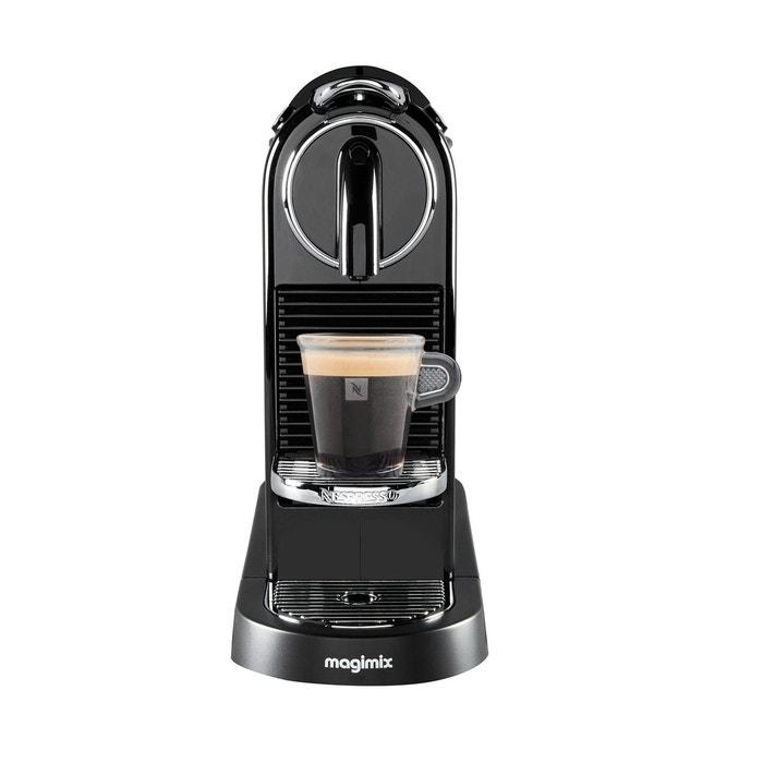 machine caf m195 citiz nespresso noir magimix la redoute. Black Bedroom Furniture Sets. Home Design Ideas