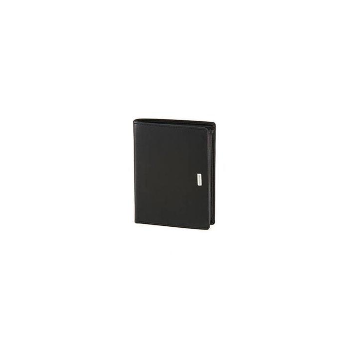 Nyx 3 slg portefeuille cuir noir Samsonite | La Redoute Jeu Eastbay Pas Cher Pas Cher Best-seller Livraison Gratuite Nouveaux Styles Jeu Grande Vente kKCEcTBZmU