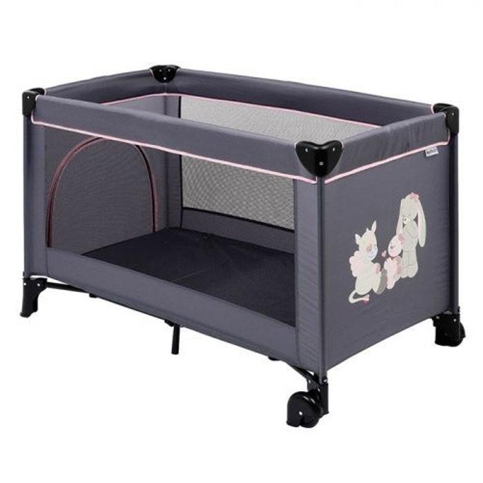 lit pliant b b avec roulettes lili jade nina nattou. Black Bedroom Furniture Sets. Home Design Ideas
