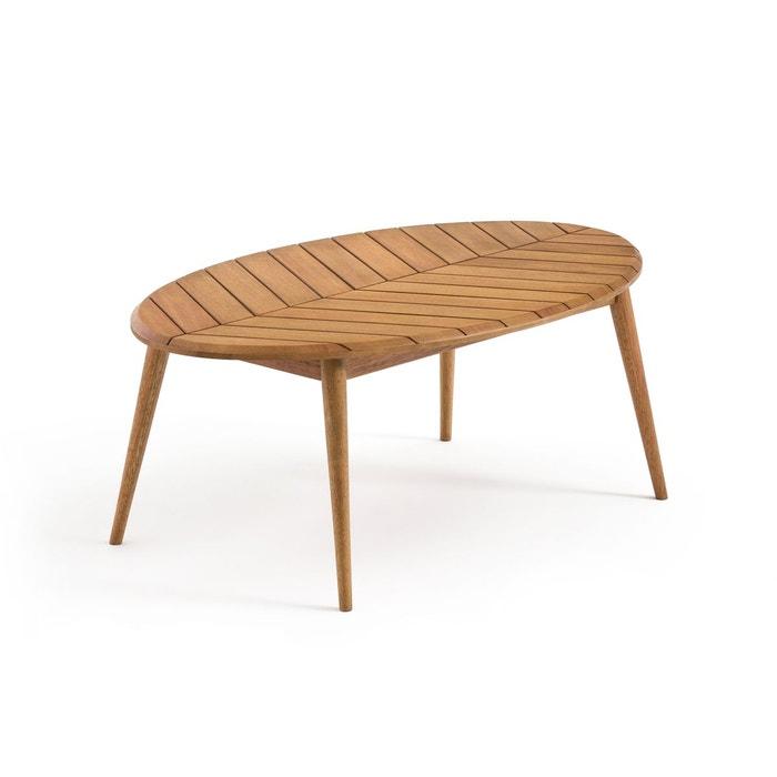 table basse de jardin eucalyptus fsc marsham eucalyptus la redoute interieurs la redoute. Black Bedroom Furniture Sets. Home Design Ideas