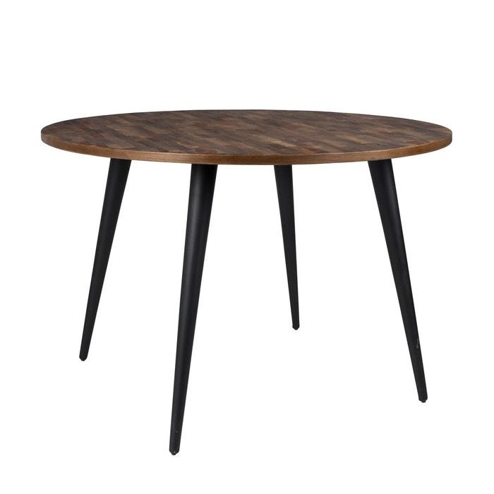 Table ronde mo 110 cm bois zuiver la redoute - Table bois la redoute ...